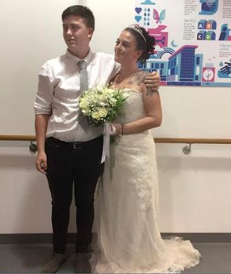 زفاف قبل فصل الأجهزة عن الحياة