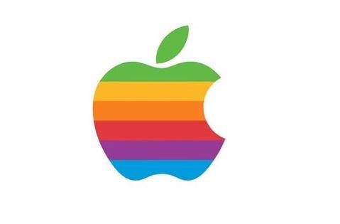 apple 1977 logo tribute to alan turing pride month