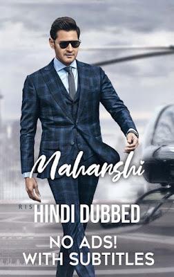 Maharshi 2019 Dual Audio HQ Hindi [Fan Dubbed] 720p HDRip Download