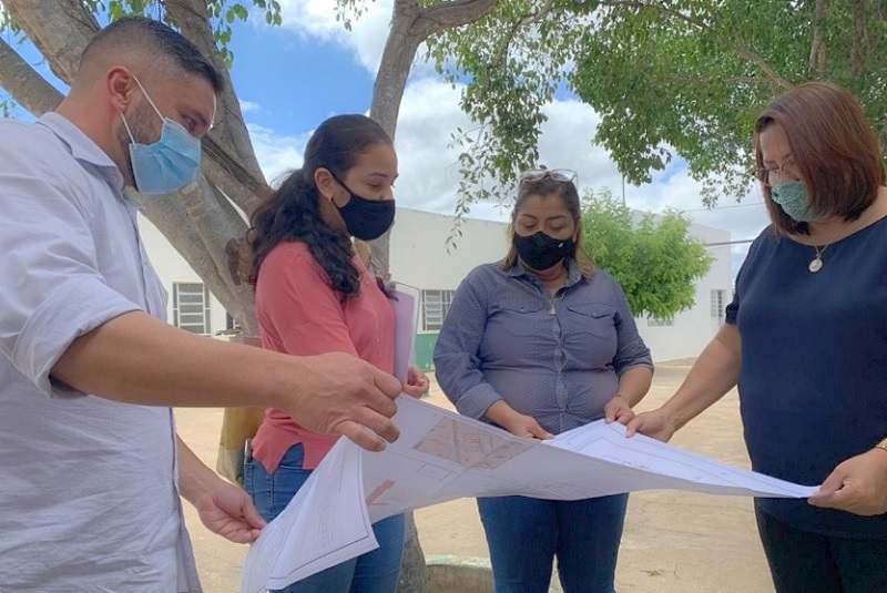 Escola Municipal Rural de Massaroca será reformada pela Prefeitura de Juazeiro para promover funcionamento em tempo integral - Portal Spy Notícias