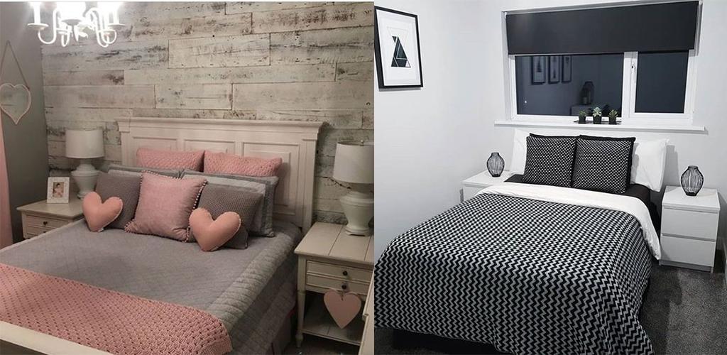 quartos pequenos decorados