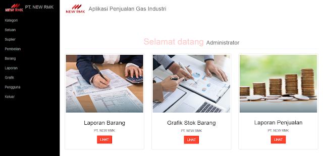 Aplikasi Penjualan Point Of Sale (Kasir Gudang)