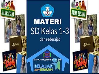 materi bdr kelas 1-3 SD/sederajat