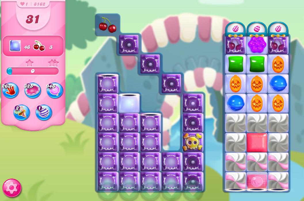 Candy Crush Saga level 8162