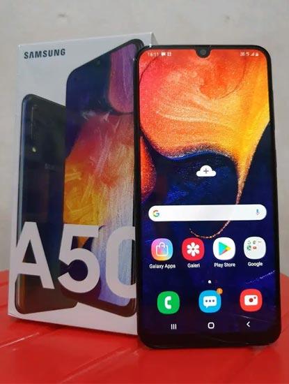 Harga Samsung Galaxy A50s Terbaru