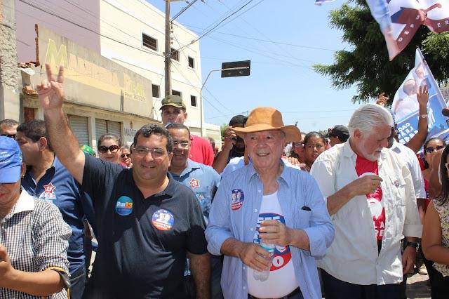 Antonio Henrique Júnior e a turma da correria ganham festa na cidade de Barra