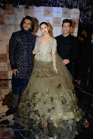 Alia Bhatt and Ranveer Singh walks the ramp for Manish Malra during Indian Couture Week 2017 Grande Finale  3 ~  Special 003.jpg