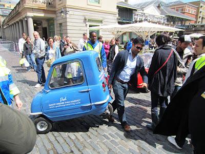 Peel P50: Kereta Terkecil Di Dunia Dengan Harga $16,000