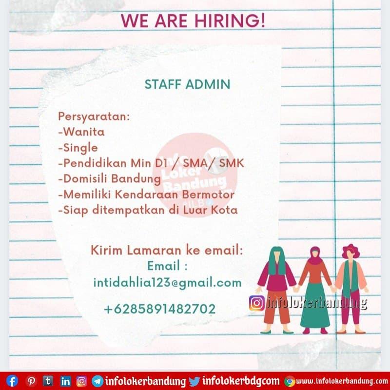 Lowongan Kerja CV Artha Graha Bandung