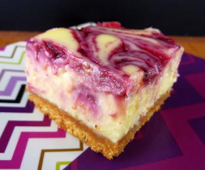 Lemon Blackberry Cheesecake Bars