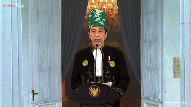 Jokowi: Koneksi 5G, Waspada dengan Penyebaran Ideologi Radikal