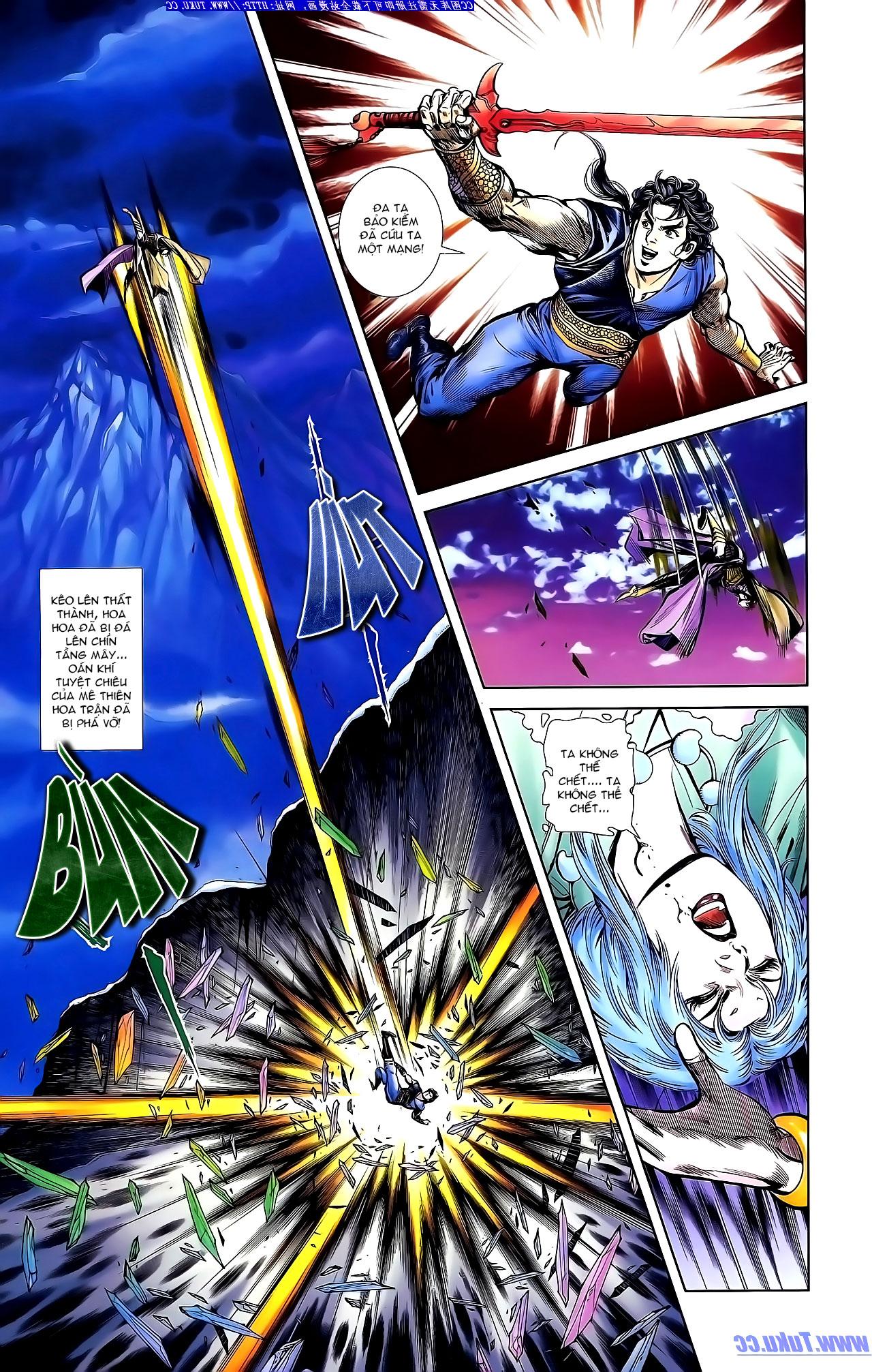 Cơ Phát Khai Chu Bản chapter 143 trang 23