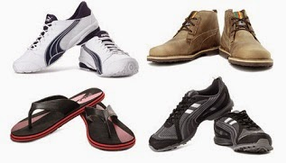 Puma, Lotto, Fila Men's Sports Shoes & Slippers: Flat 40% Off @ Flipkart