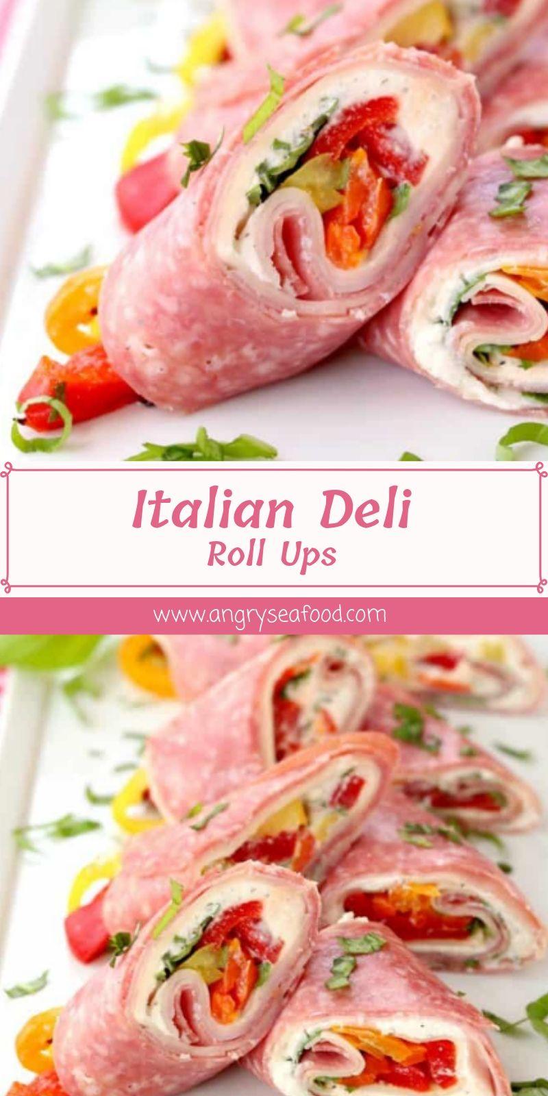 Italian Deli Roll Ups