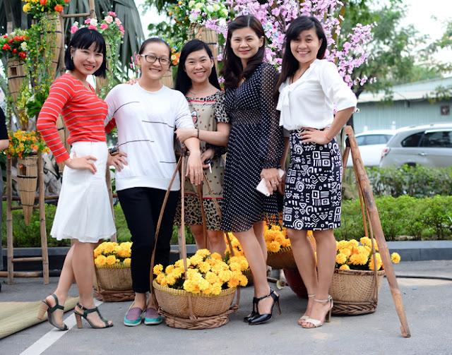 Cán Bộ CNV FPT Hồ Chí Minh Nô Nức Tham Gia Hội Làng 7