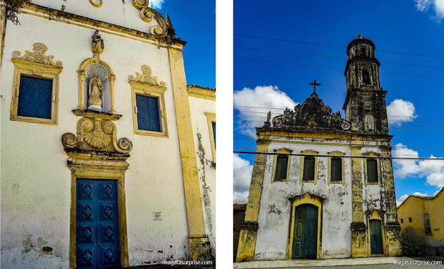 Igreja do Carmo e Igreja do Amparo, São Cristóvão, Sergipe