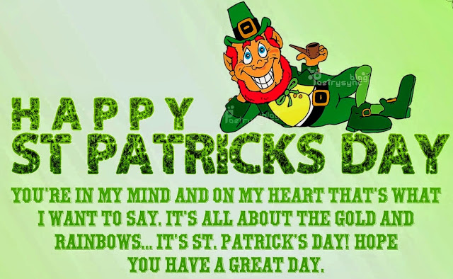 St Patrick's day quotes 2017