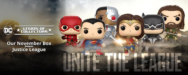 Funko Legion of Collectors Unite the League Banner