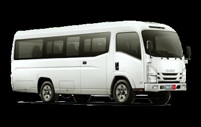 sewa mobil elf kendaraan jemputan karyawan kantor pabrik jakarta bekasi isuzu-elf-silver cibitung cikarang karawang