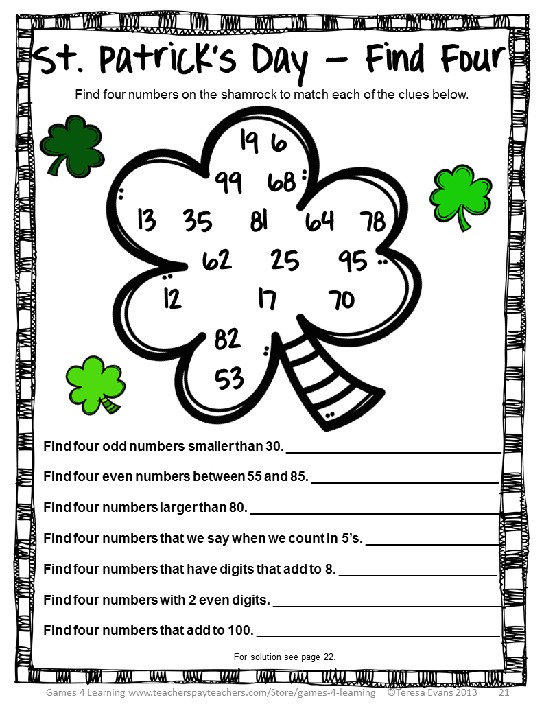 Lucrative image throughout st patricks day printable