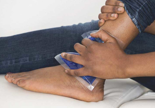 use of ice pack relieve gout pain