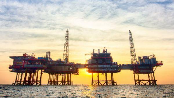 Plataforma petrolífera marina