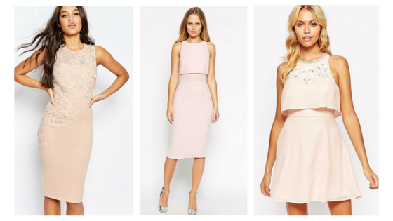 nude, design, Fashion, pink, pastels, baby pink, asos, shopping, going out, party