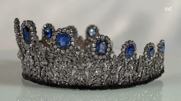 The Leuchtenberg Sapphire Tiara