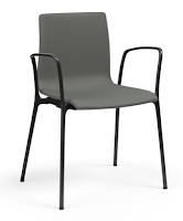Voz Vinyl Guest Chair