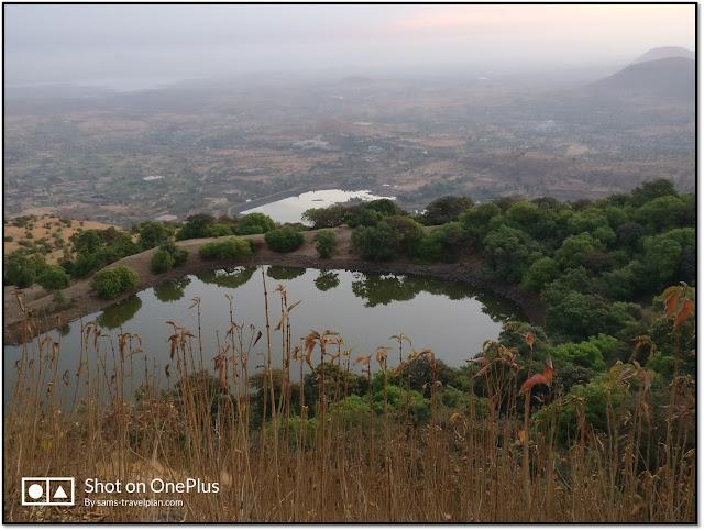 Anjaneri hill, Foot shape lake of lord hanuman