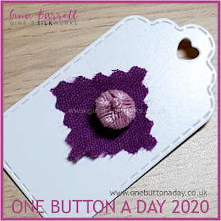 One Button a Day 2020 by Gina Barrett - Day 106 : Reigate