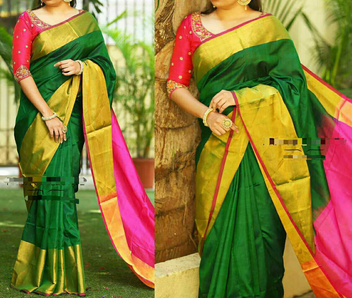 93d4d8e71 Uppada heavy big border Saree's | Buy Online Uppada Sarees At best prices
