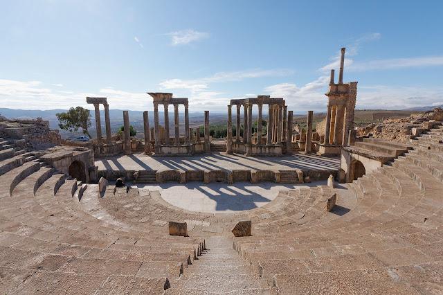 مظاهر الازدهار الحضاري لأفريكا الرومانيّة