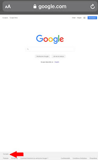 Google Recherche google.com et Canada