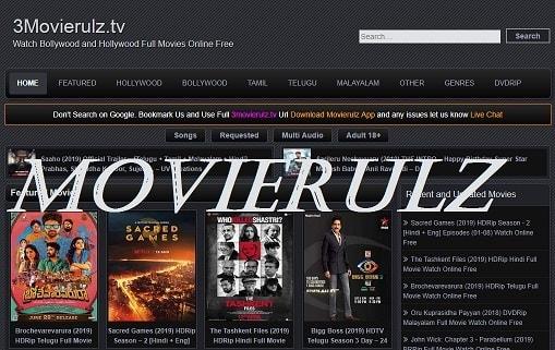 MovieRulz 2019 - Download Tamil, Telugu, Bollywood, Hollywood Hindi Dubbed Movies