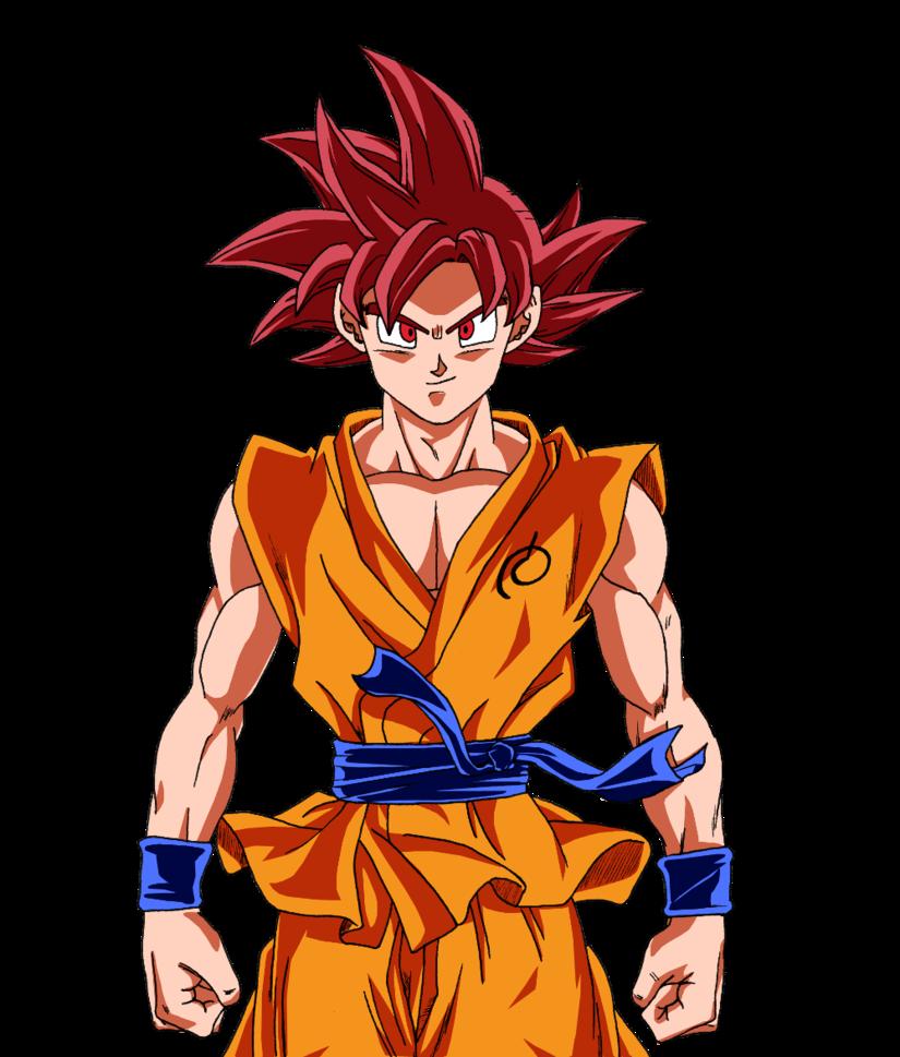 Goku SSj God- Dragon ball z  by Kayn-Gfx
