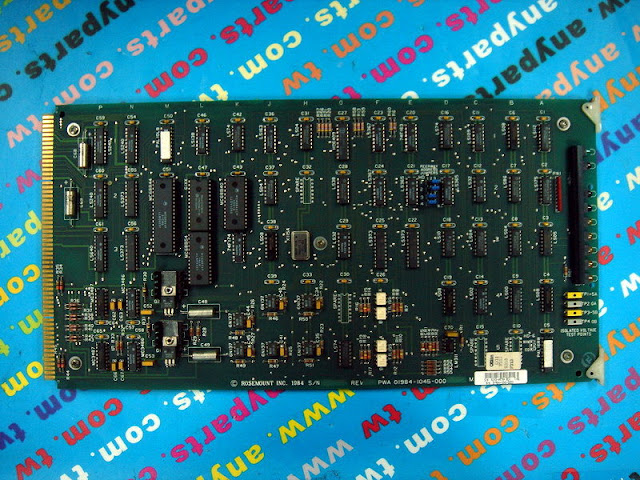 FISHER ROSEMOUNT RS3 01984-1045-0003 PEERWAY IO INTERFACE CARD