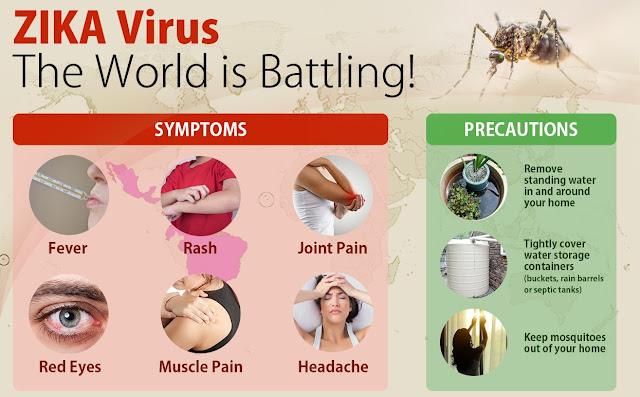 Zika Virus Symptoms and Vaccine