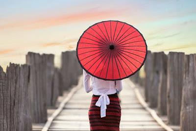 opening umbrella inside house superstition
