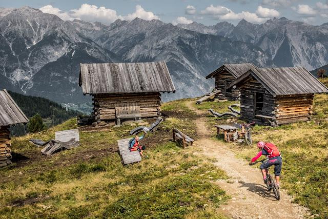 Downhill Strecke Serfaus Fiss Ladis