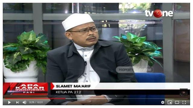 Slamet Maarif Ungkap Kondisi HRS Kini dan Bandingkan dengan Ahok: Skenario Rezim Penguasa