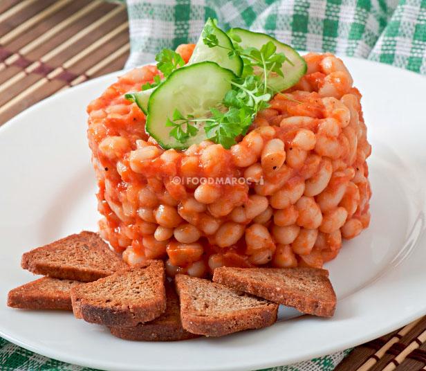 white beans dish