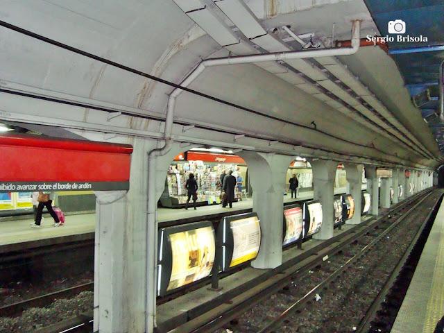 Trilhos do Subte (Metrô) - Buenos Aires