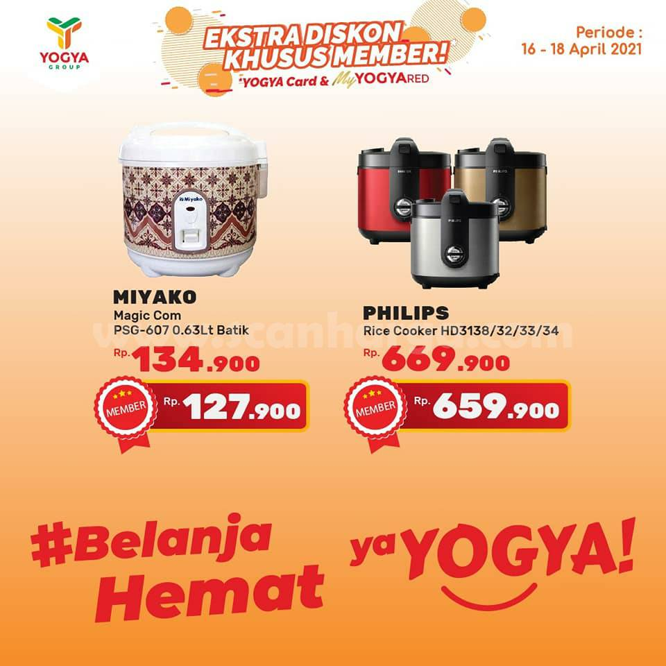 Katalog Promo Toserba Yogya Weekend 16 - 18 April 2021 10