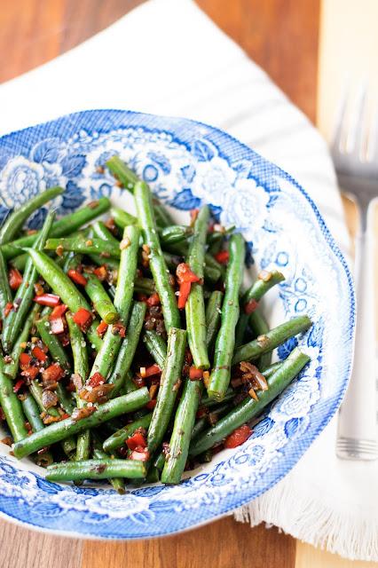 Oil Free Sauteéd Green Bean Recipe