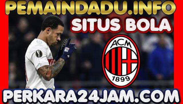 AC Milan Manfaatkan Situasi Dan Tawar Murah Memphis Depay