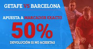 Paston promoción Liga Santander: Getafe vs Barcelona 16 septiembre