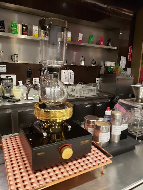 サイフォンコーヒー 用のハロゲンビームヒーター