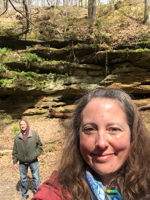 Wildcat Den's rock formations are breathtaking!
