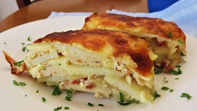 Piletina i krumpir musaka na drugi način / Chicken and Potato a la Moussaka